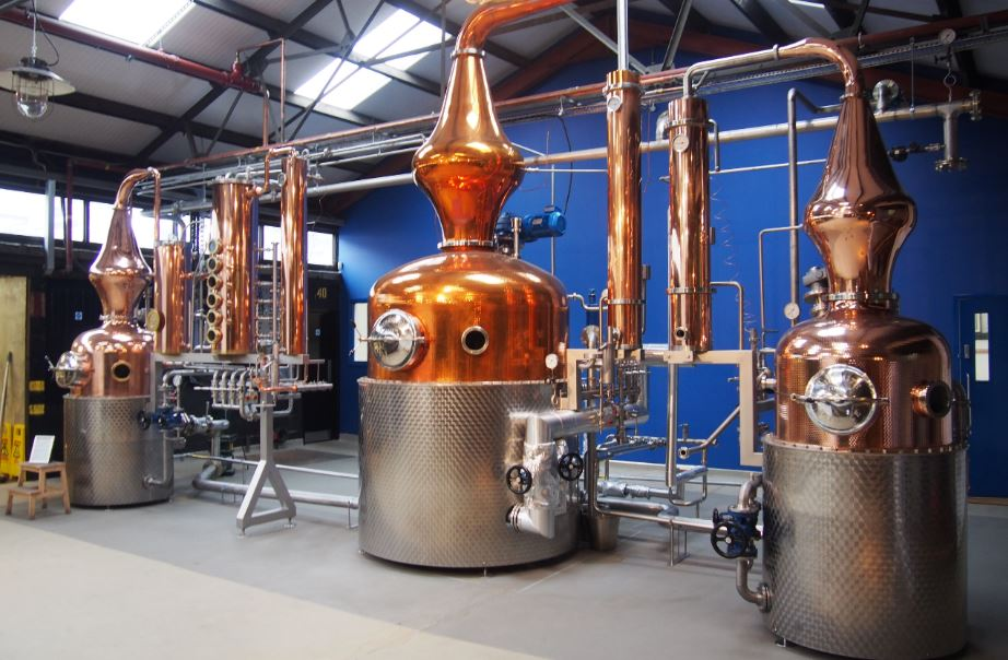 Copper Pot Still at the Distillery