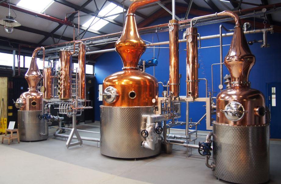 Copper Pot Still at the Distillery