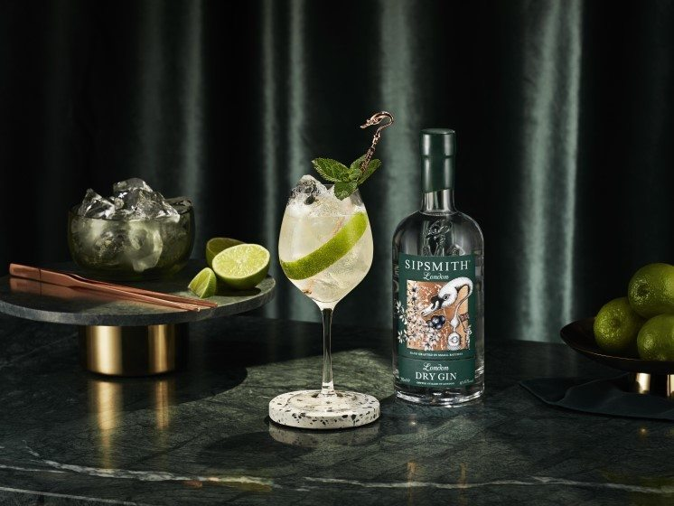 London Dry Gin Spritz