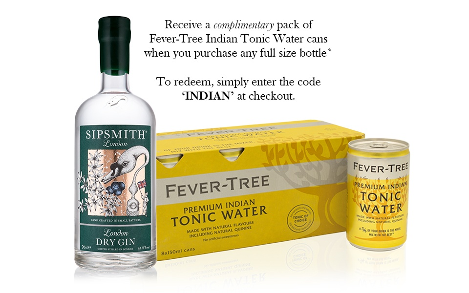 Sipsmith London Dry Gin & Fever-Tree Indian Tonic