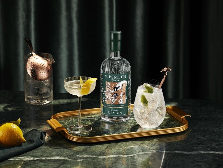 london dry gin cocktails