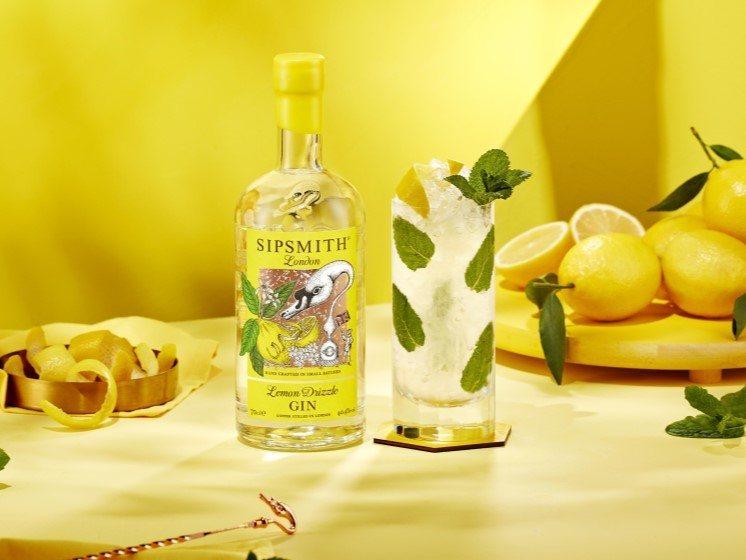 Lemon Gin - Lemon Drizzle Mojito