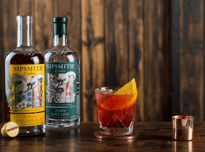 London Cup Negroni