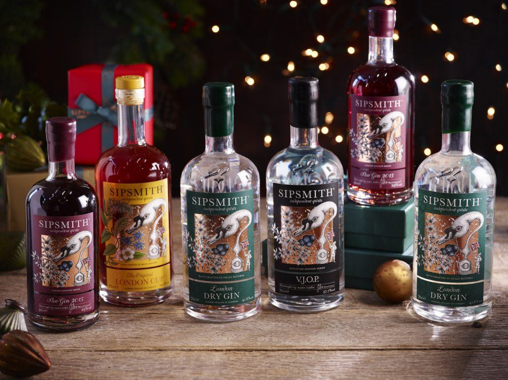 Christmas Alcohol Gift Sets.Sipsmith S Ginful Christmas Gift Guide