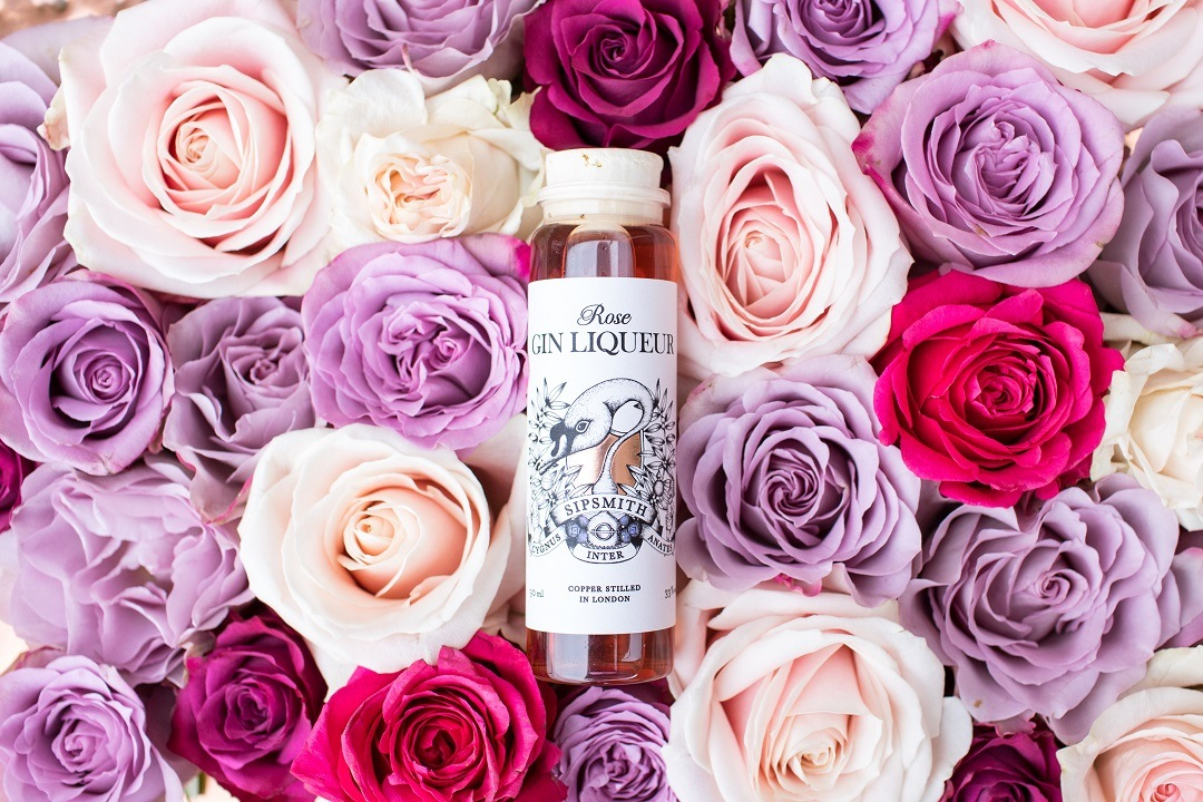 Rose Gin Liqueur Sipsmith Sipping Society