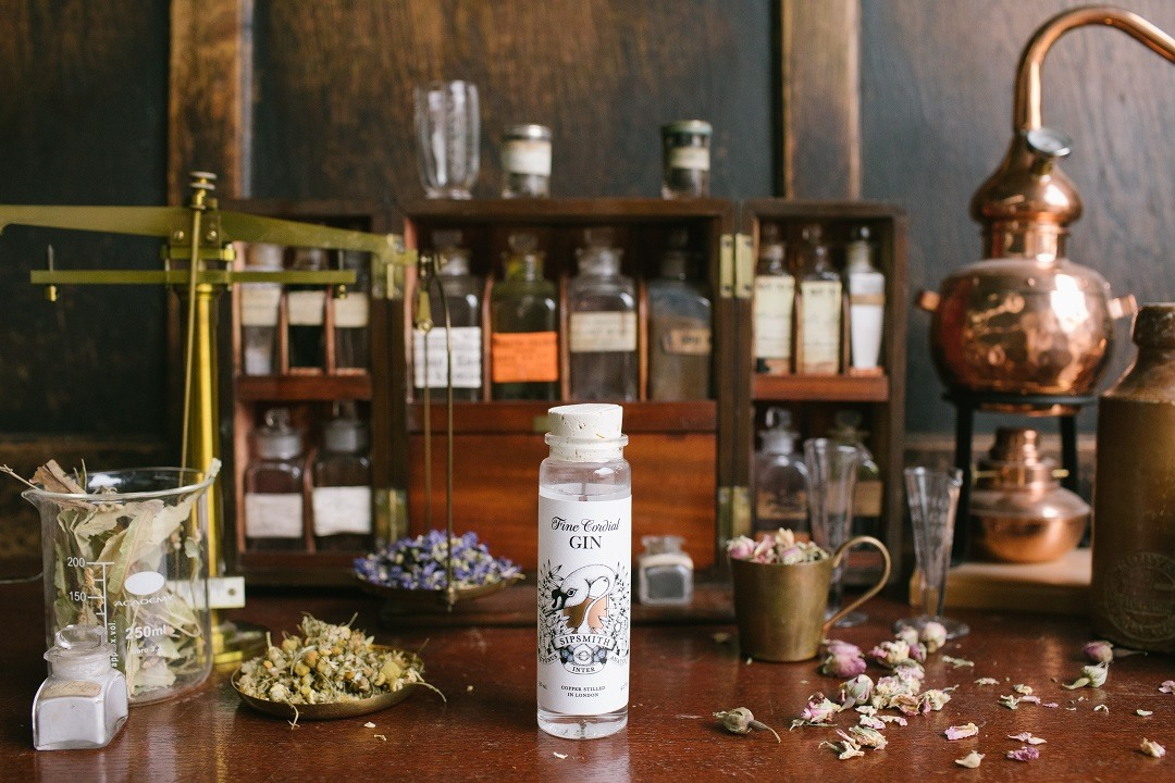 Fine Cordial Gin Sipsmith Sipping Society