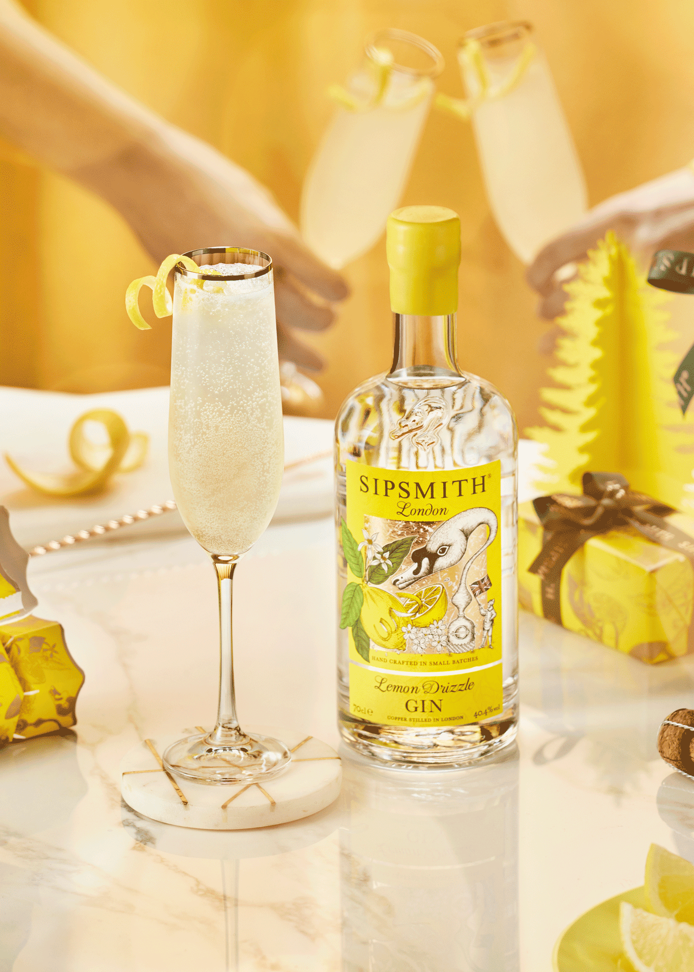 Lemon Drizzle 75 Christmas