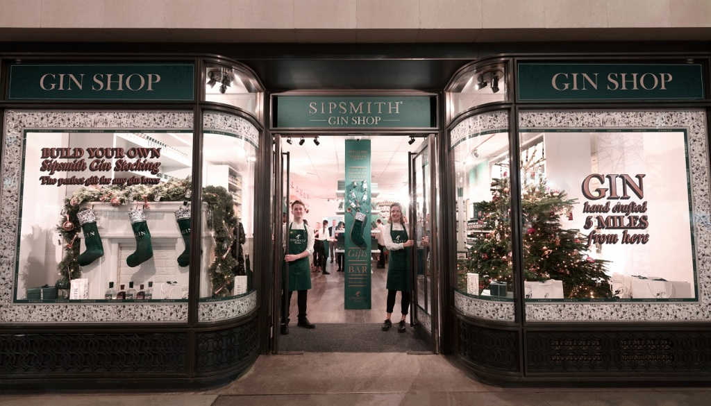 The Sipsmith Gin Shop