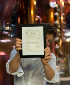 Distilling License