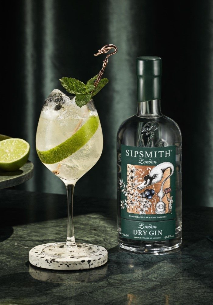 london dry gin spritz recipe