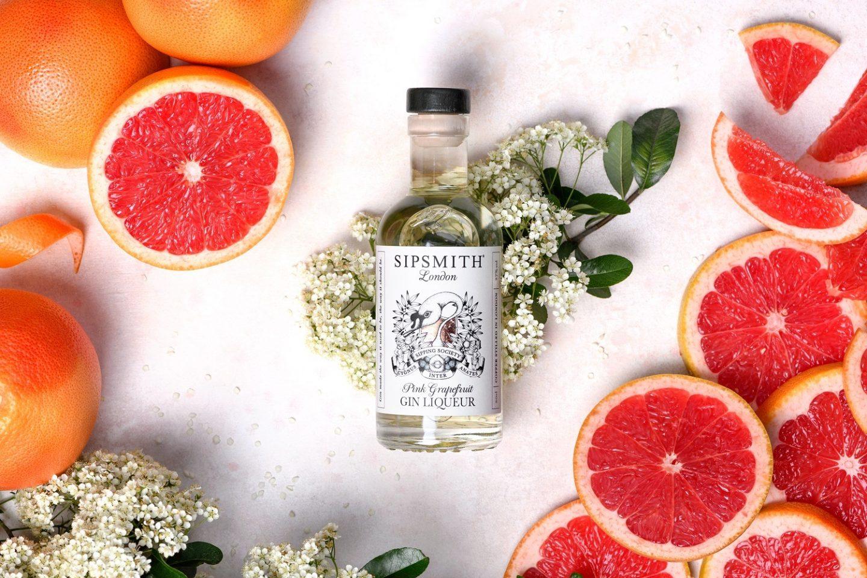 Pink Grapefruit Gin Liqueur