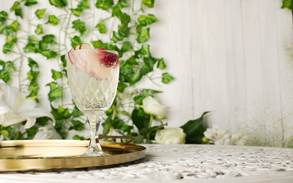 (Not) Pink Gin Spritz