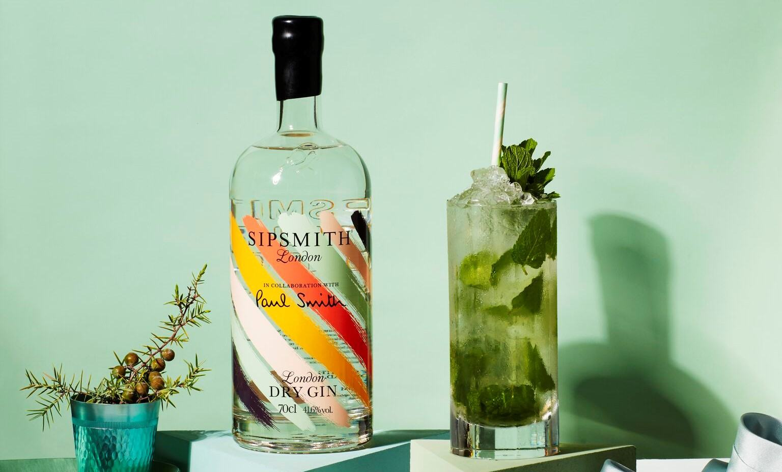 Sipsmith x Paul Smith - Gin Mojito