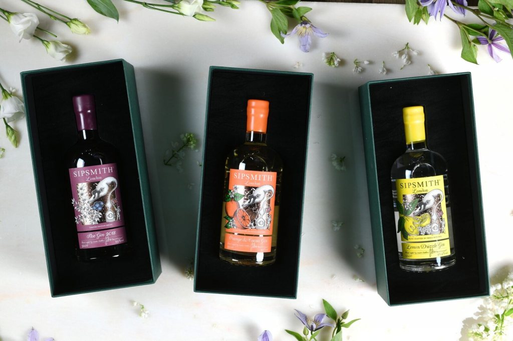 50cl Sipsmith gin gift box