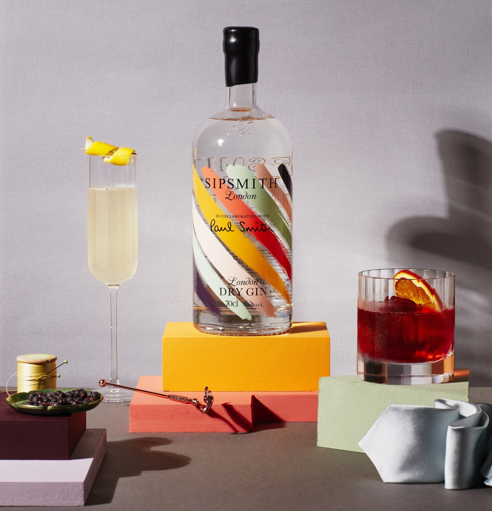 Sipsmith x Paul Smith cocktails