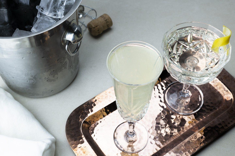 Blanc de Blancs Gin Cocktails
