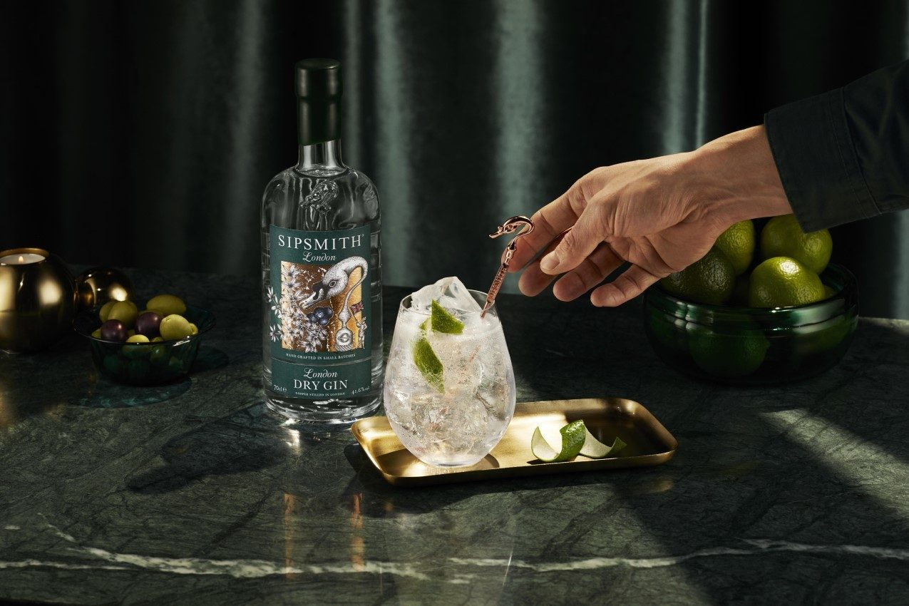 london dry gin homepage slider