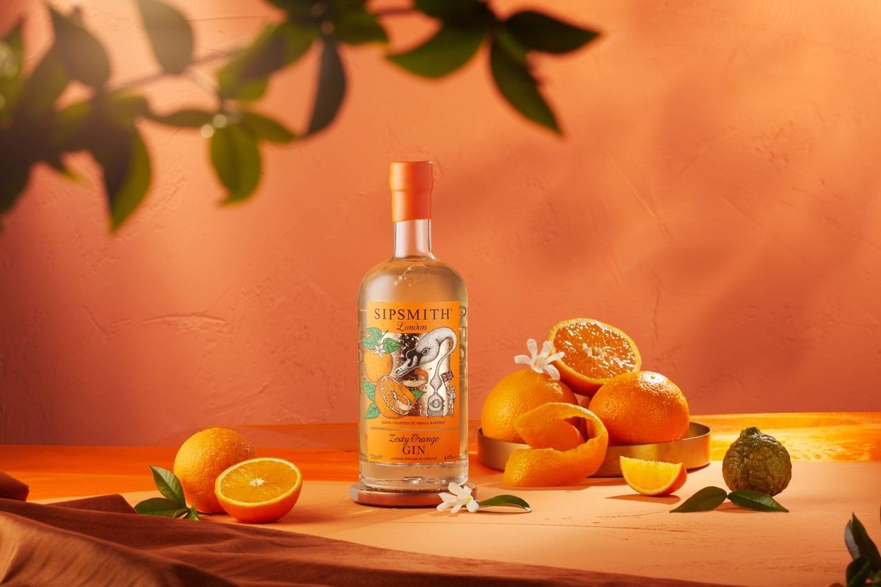 Zesty Orange Gin