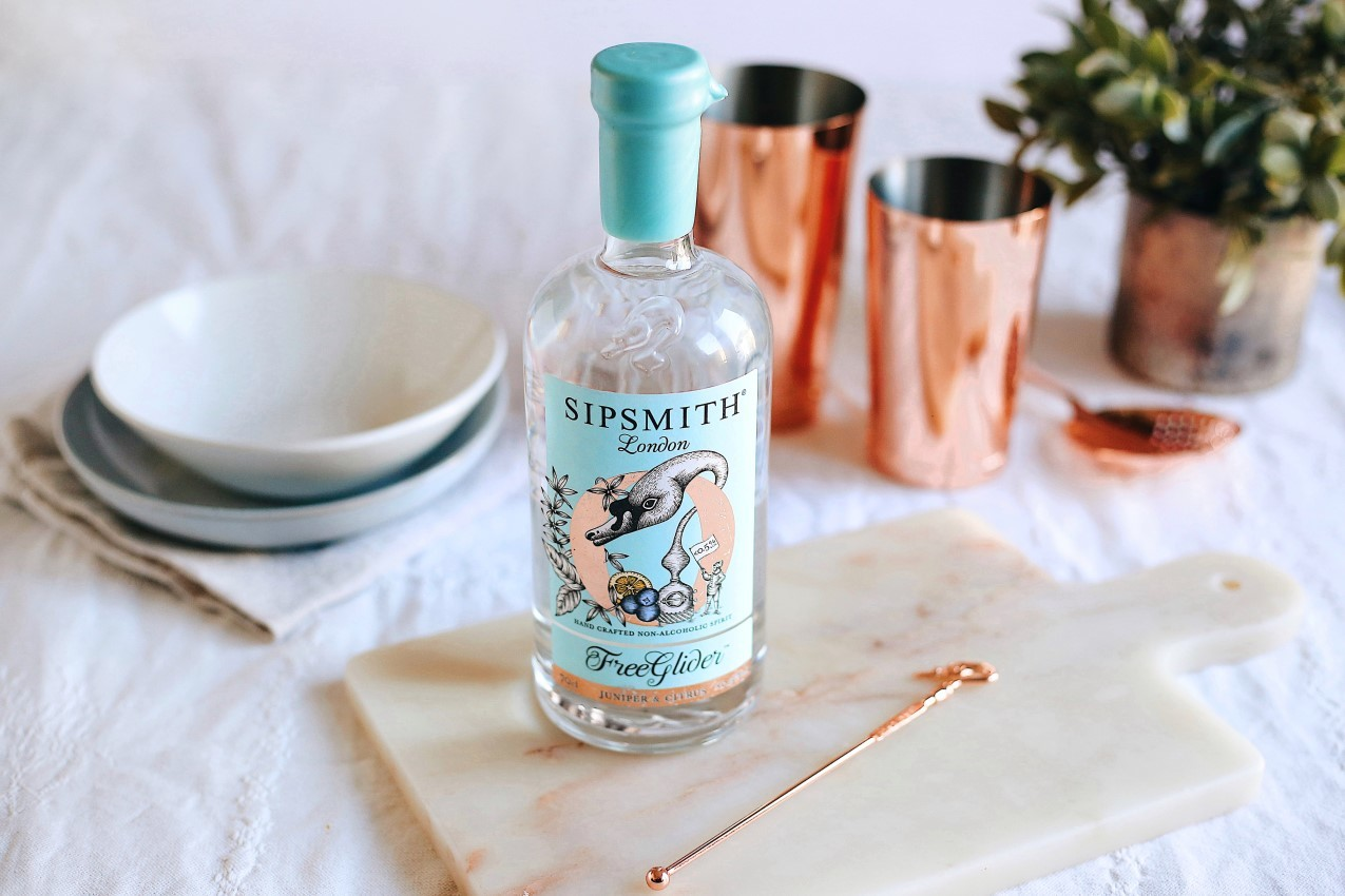 freeglider alcohol free gin