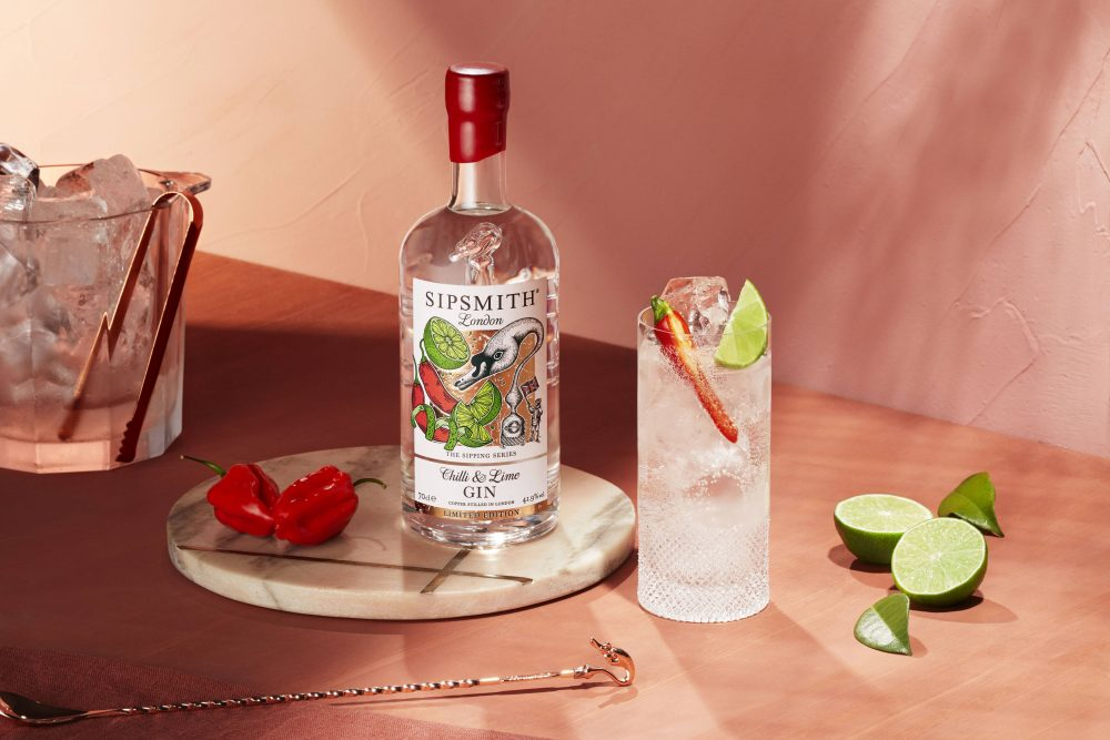 Chilli and Lime G&T
