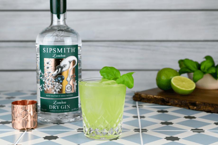 Gin Basil Smash - gin grazing board