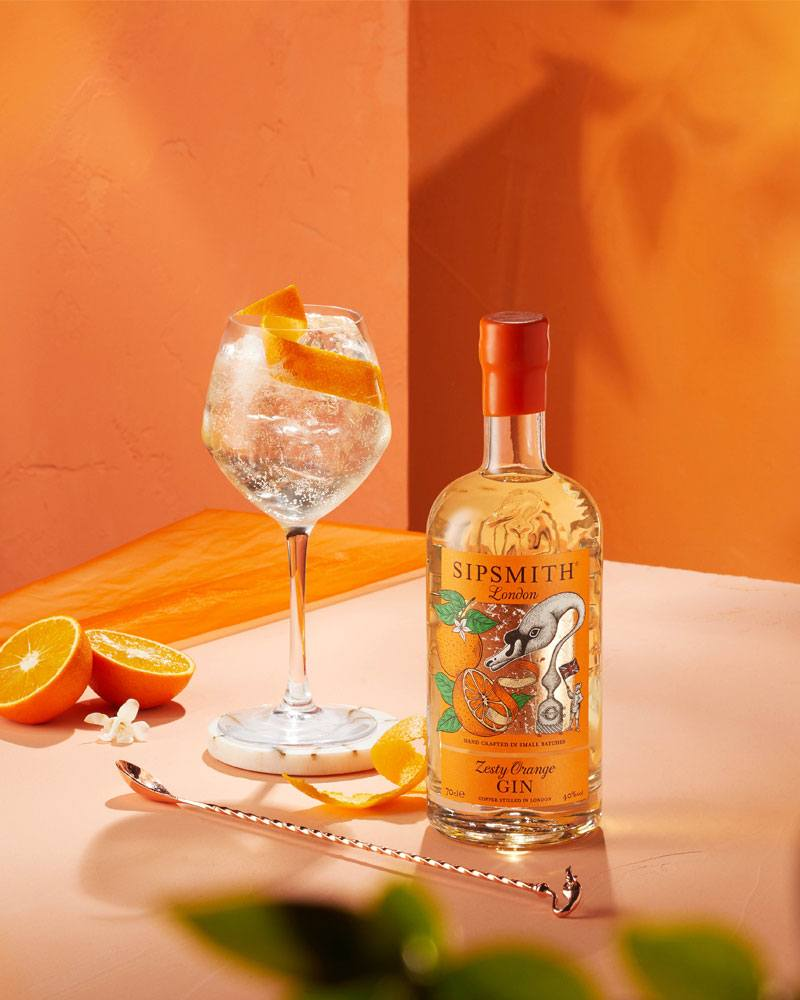 Zesty Orange Spritz