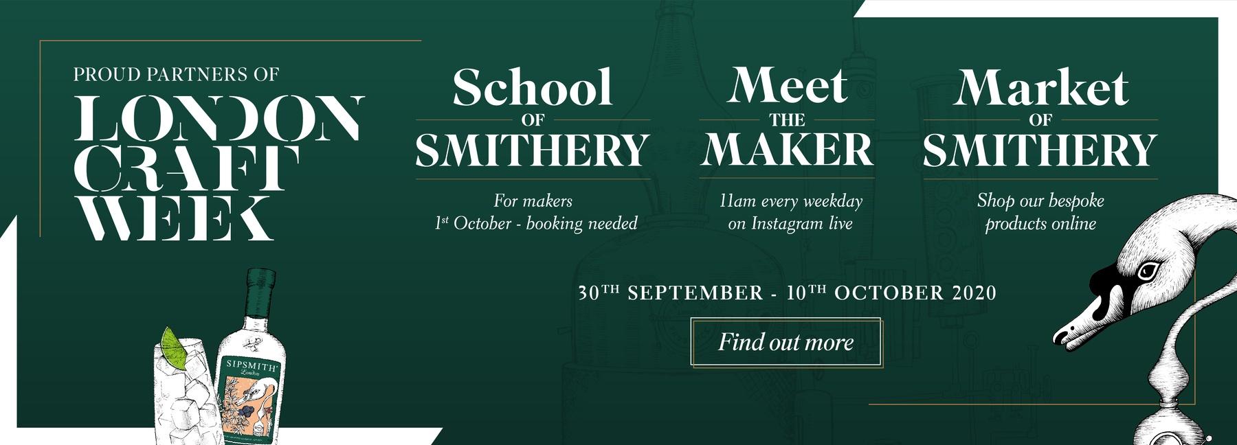 Sipsmith x London Craft Week