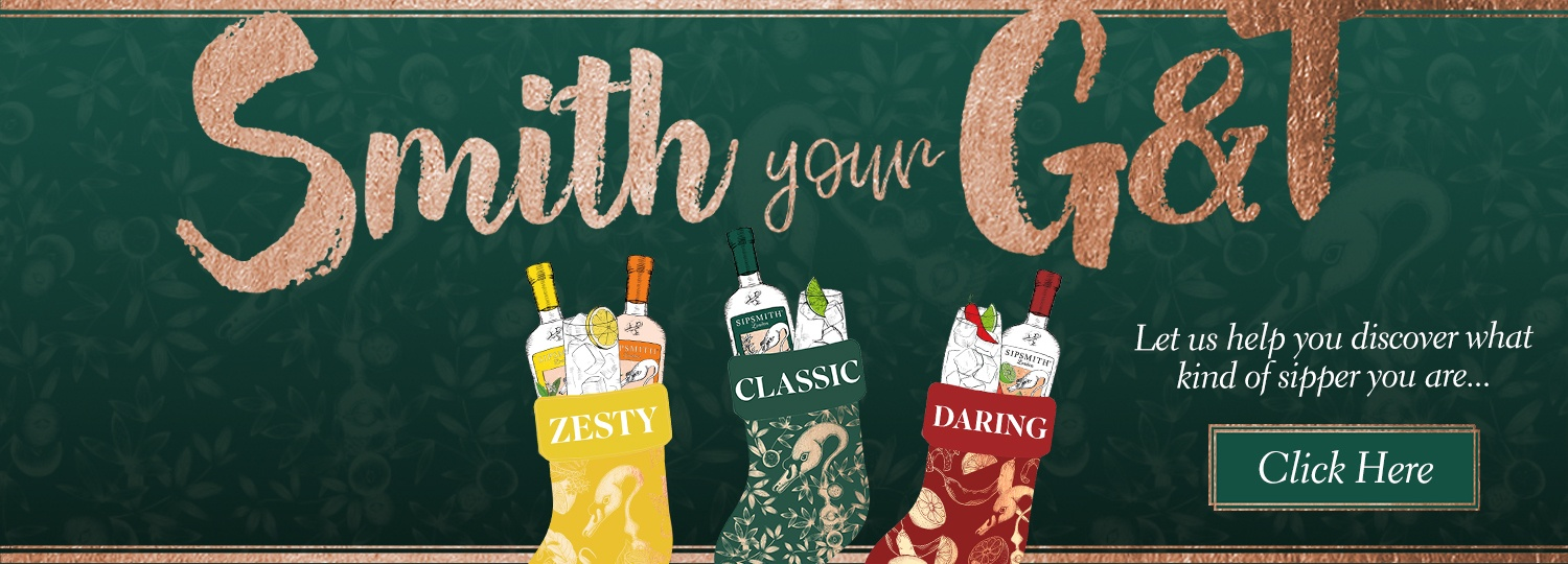 Smith Your G&T Homepage Banner Desktop
