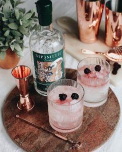 bramble simple gin cocktail