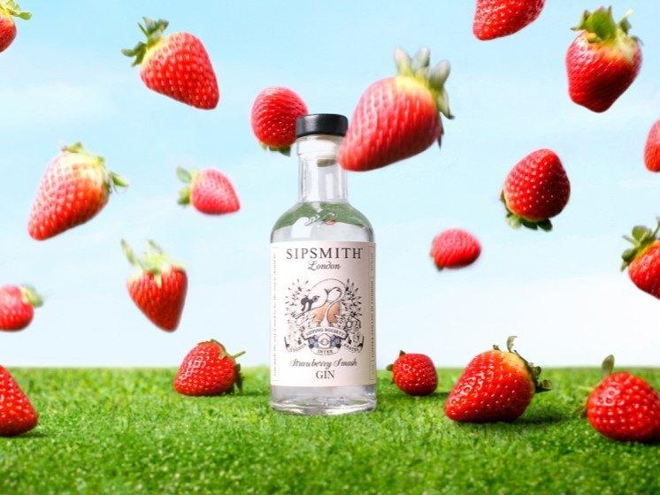 strawberry smash gin