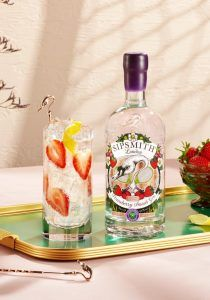 strawberry gin cocktails