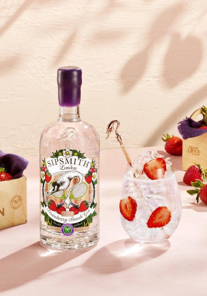 Strawberry Smash G&T