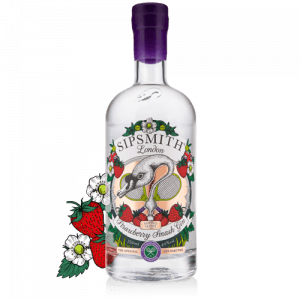 strawberry smash gin botanicals