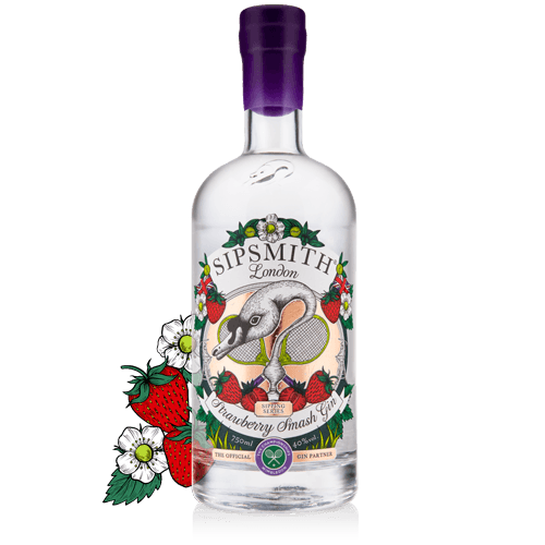 strawberry smash gin botanicals