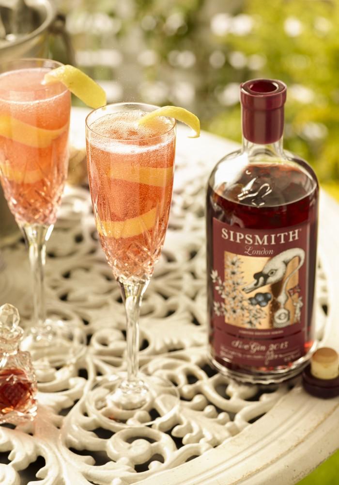 sloe royale cocktail recipe