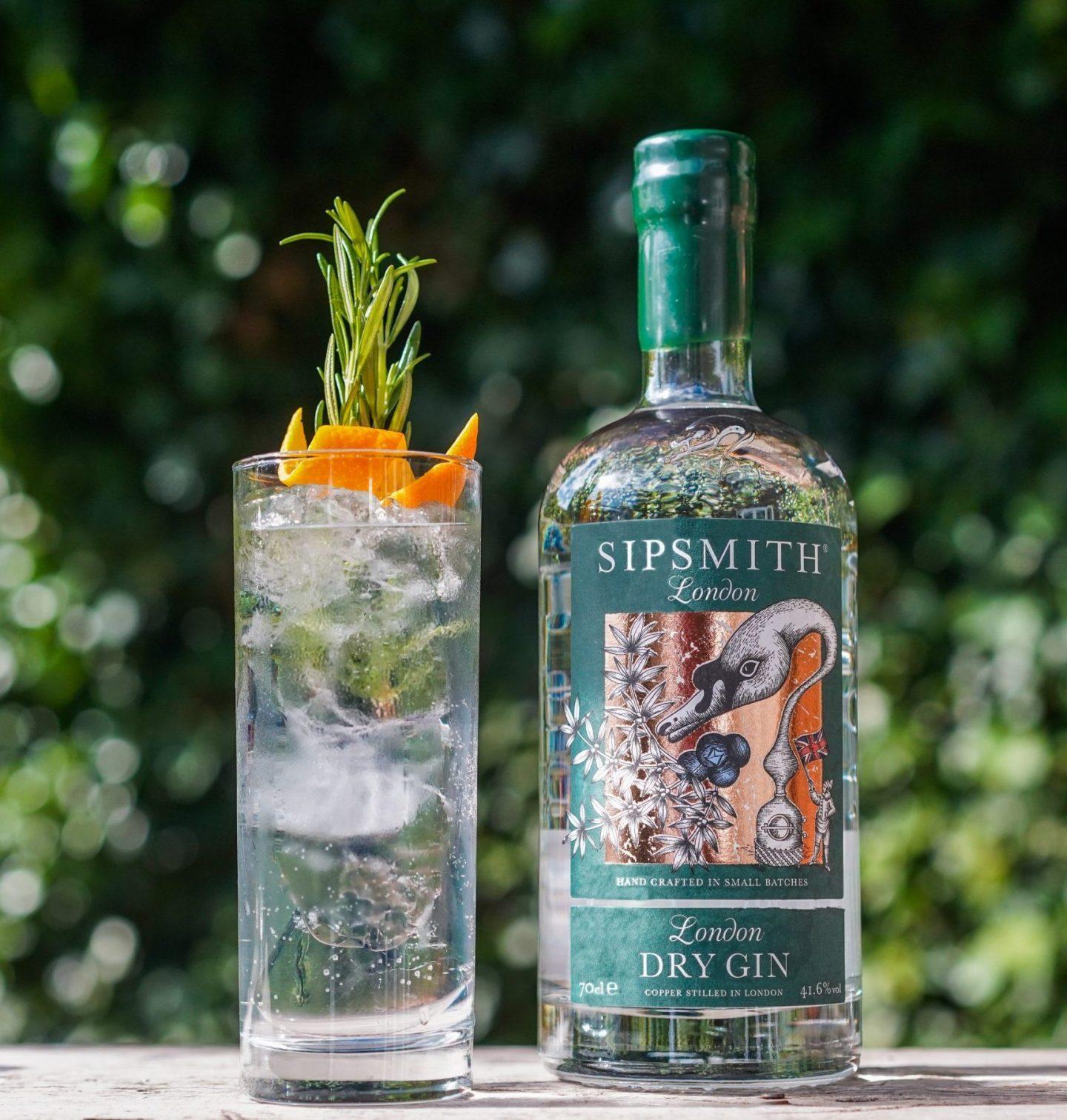 Sipsmith Botanical Gin and Tonic